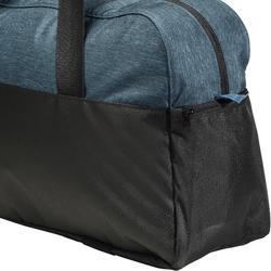 Bolsa de deportes gimnasio Cardio Fitness Domyos 30 litros azul negro