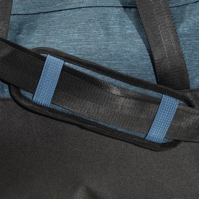 Bolsa de fitness cardio-training 30 litros azul petróleo y negro