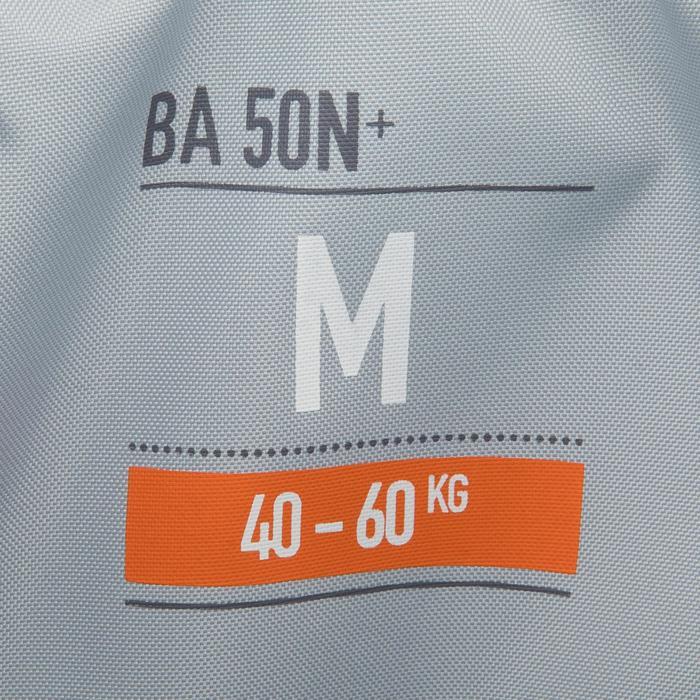 Auftriebsweste BA 50N+ für Kajak SUP Jolle blau