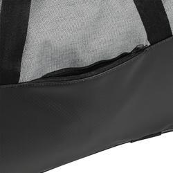 Bolsa de deportes gimnasio Cardio Fitness Domyos 30 litros negro gris