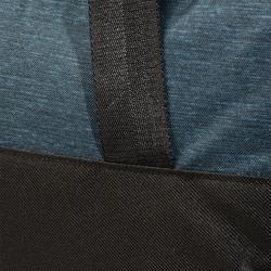 Cardiofitness tas 30 liter petroleumblauw en zwart