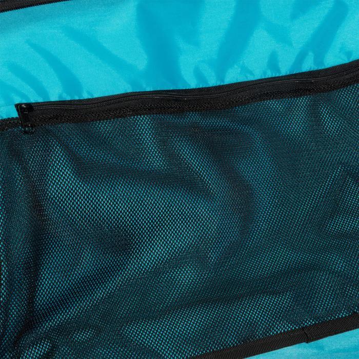 Sac fitness cardio-training 30 Litres bleu pétrole et noir