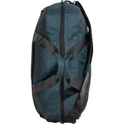 Tas voor cardiofitness 30 liter petrolblauw/zwart