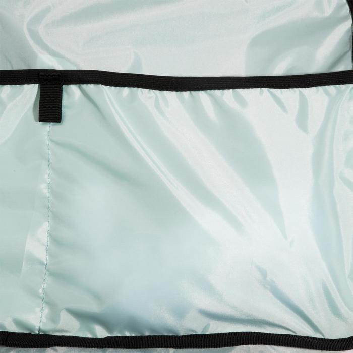 Sac fitness cardio-training 30 Litres noir dessiné triangle premium - 1284892