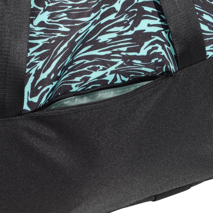 Cardiofitness tas 30 liter print groen zwart en wit