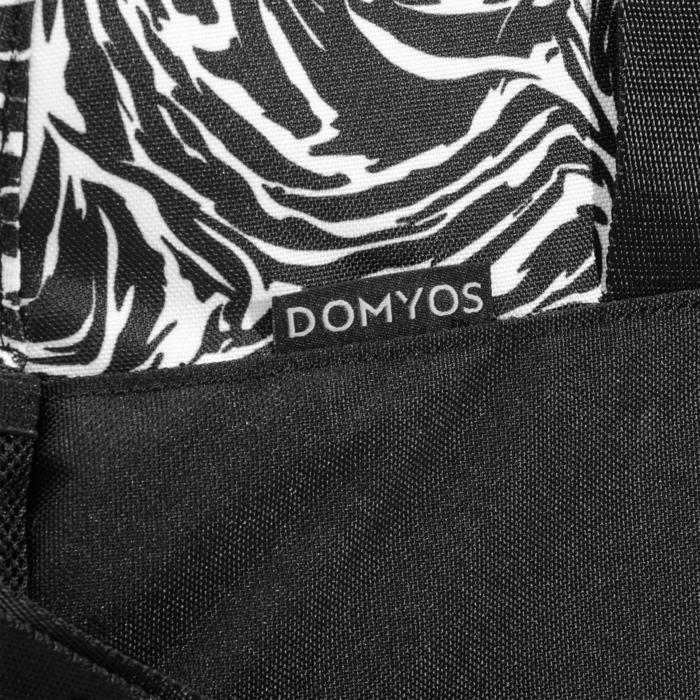 Sac fitness 30 Litres imprimé vert noir et Domyos - 1284920