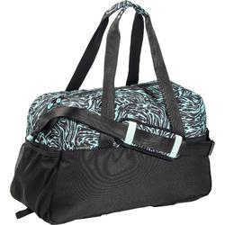 Bolsa fitness cardio 30 Litros estampado verde negro y blanco