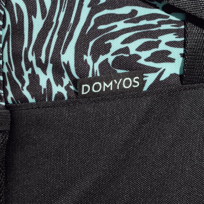 Sac fitness 30 Litres imprimé vert noir et Domyos - 1284982
