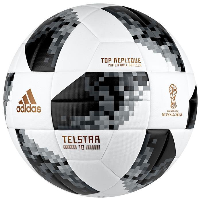 Ballon de football WC 2018 T5 thermocollé - 1284989