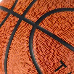 Balón de baloncesto júnior Wizzy marrón talla 5.