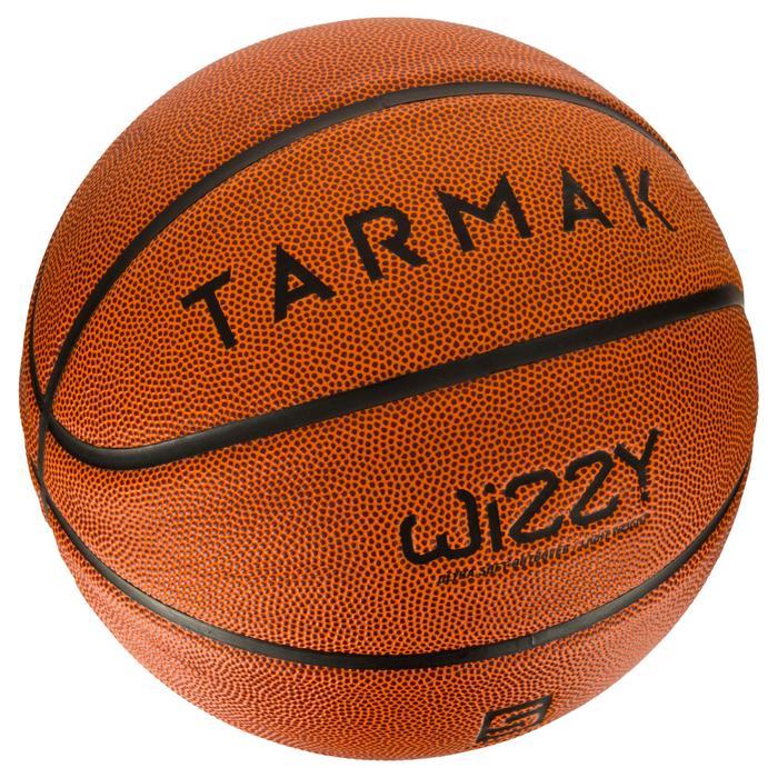 Basketbal voor kinderen Wizzy maat 5 bruin.