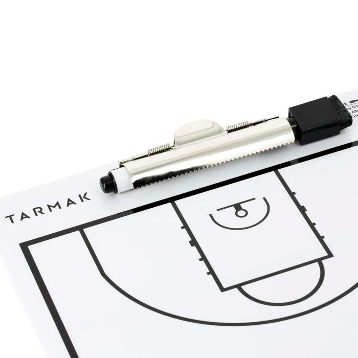 Taktikboard mit Filzstift Trainer Basketball