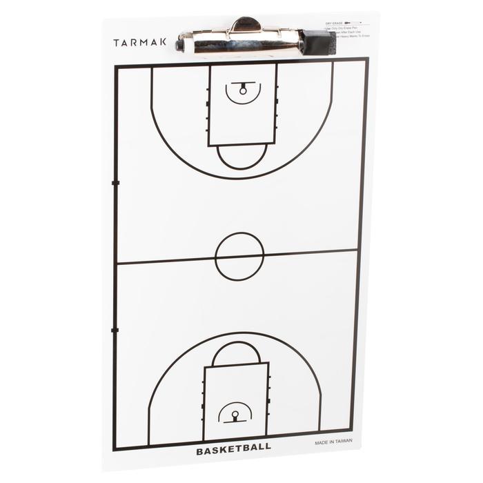 Tablette d'entraîneur de basketball Tarmak. Avec feutre effaçable. - 1285004