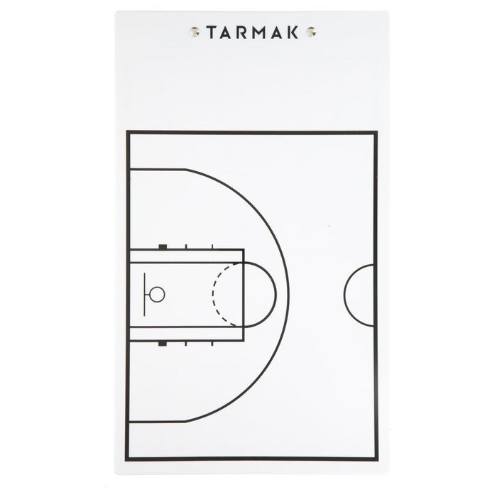 Tablette d'entraîneur de basketball Tarmak. Avec feutre effaçable.