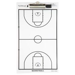 Pizarra Táctica entrenador Baloncesto Tarmak con rotulador