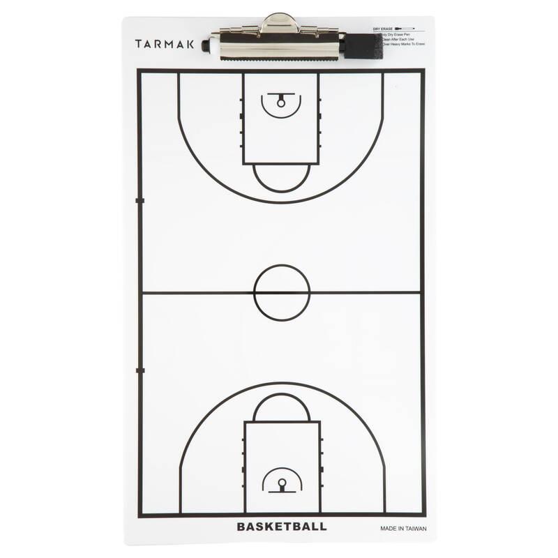 BASKETBALOVÉ MÍČE Basketbal - TRENÉRSKÁ TABULE BASKET TARMAK - Basketbalové míče