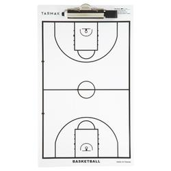 Trainingsbordje basketbal (met stift)