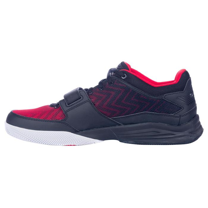 CHAUSSURE BASKETBALL TIGE BASSE FAST 500 ADULTE CONFIRME NOIR ROUGE