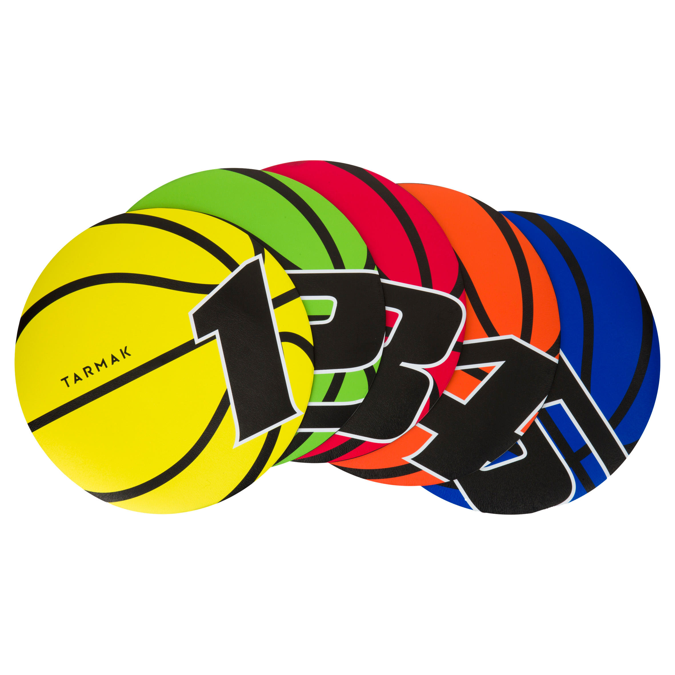 Tarmak Shootingtegels basketbal kinderen/volwassenen. Voor spelletjes en oefeningen