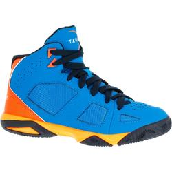 Strong 300 Boys'/Girls' Basketball Shoes For Advanced Players - Blue/Orange