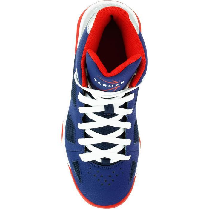 Chaussures de Basketball enfant Strong 300 navy - 1285038