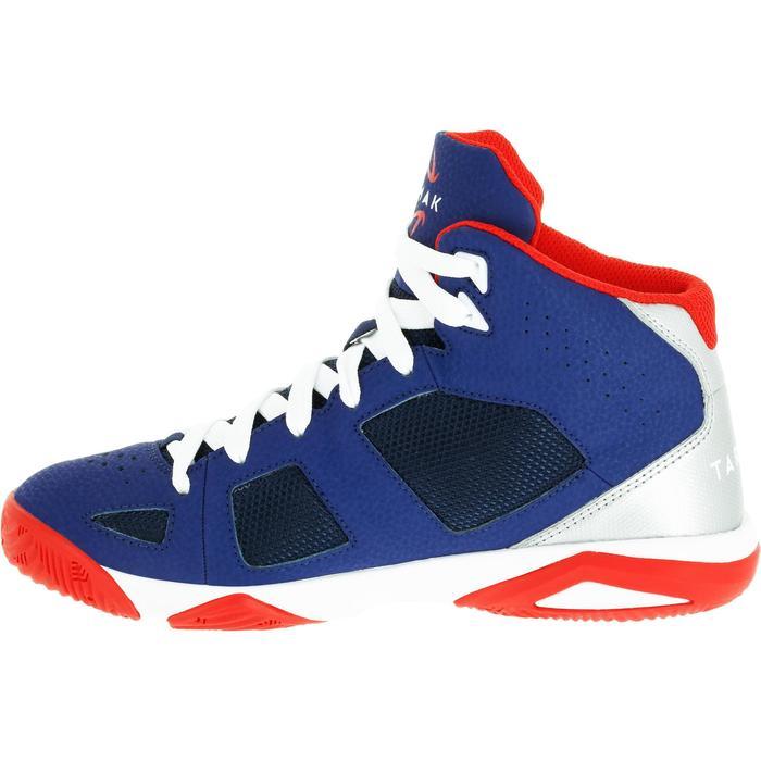 Chaussures de Basketball enfant Strong 300 navy - 1285045