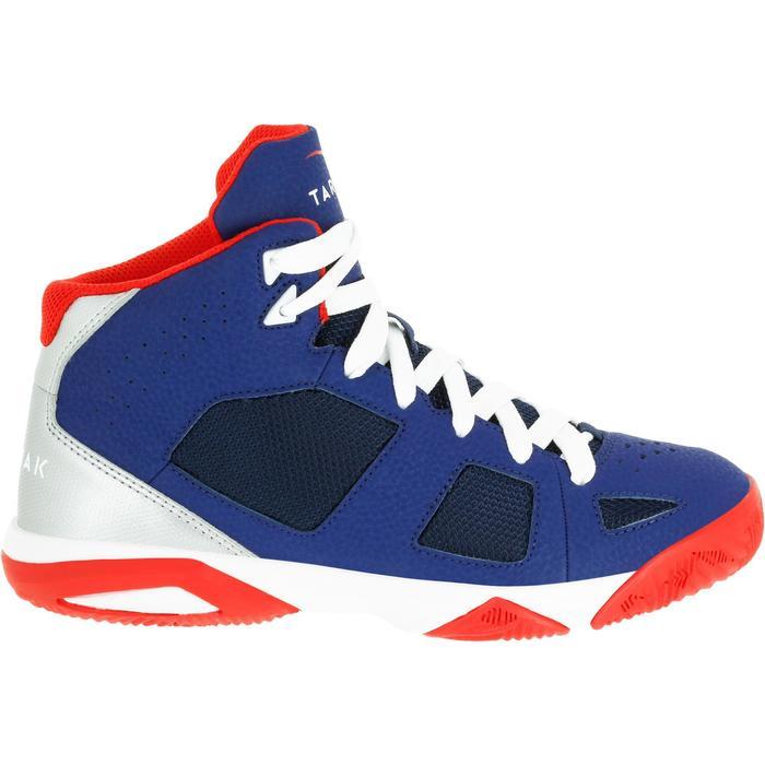 Chaussures de Basketball enfant Strong 300 navy - 1285052
