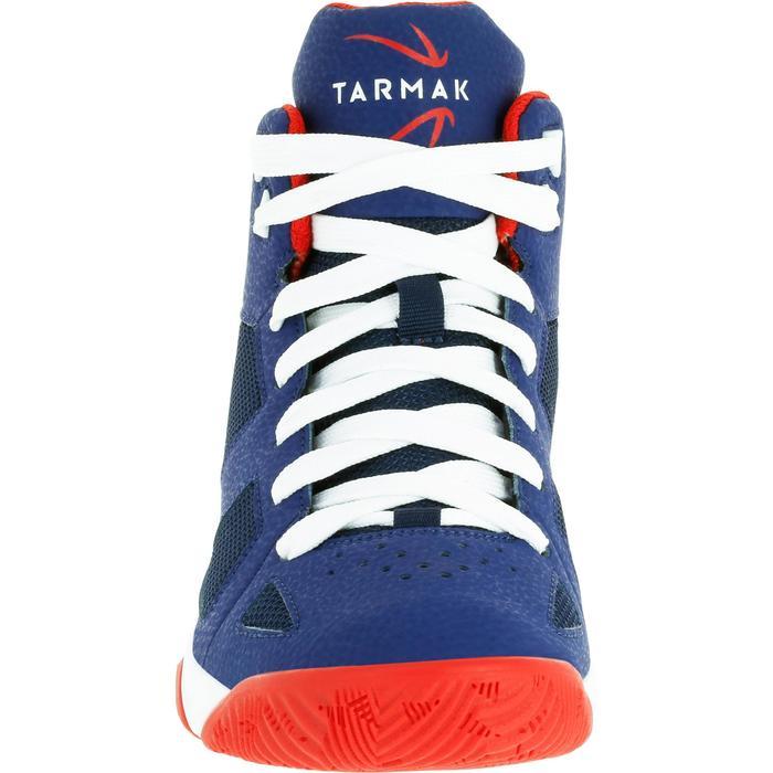 Chaussures de Basketball enfant Strong 300 navy - 1285059