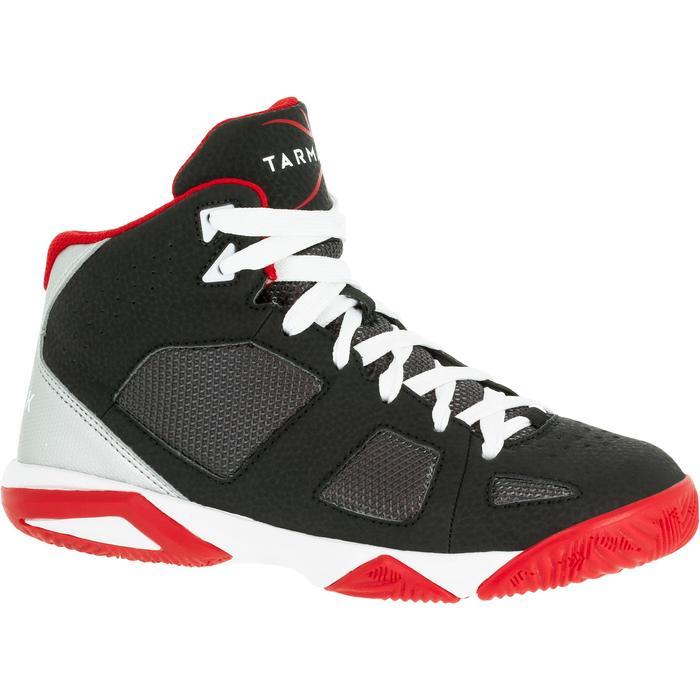 Chaussures de Basketball enfant Strong 300 navy - 1285068