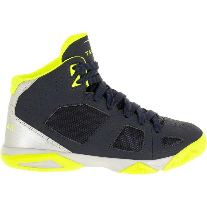 Chaussures de Basketball enfant Strong 300 navy - 1285115