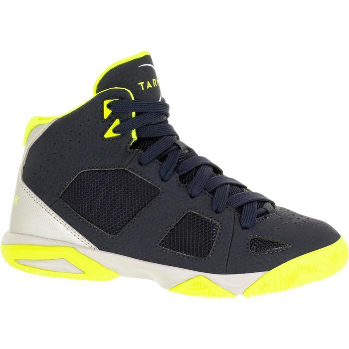 Chaussures de Basketball enfant Strong 300 navy - 1285118