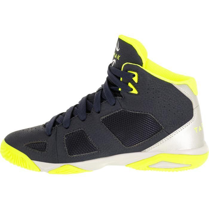 Chaussures de Basketball enfant Strong 300 navy - 1285120