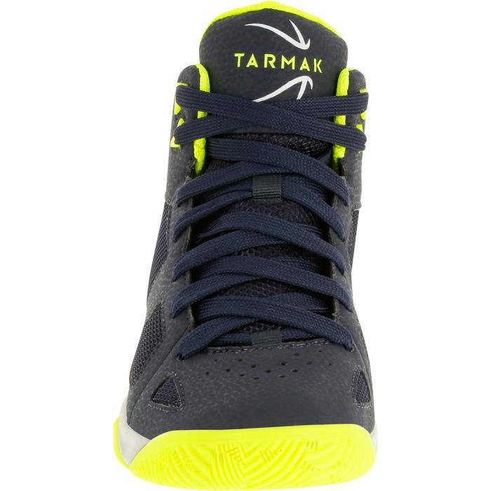 Chaussures de Basketball enfant Strong 300 navy - 1285122