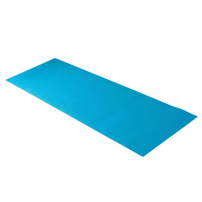 Yogamat Essentiel voor zachte yoga 4 mm blauw
