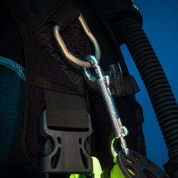Mousqueton double SCD 100 mm de plongée sous-marine