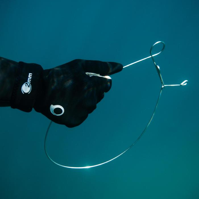 Accroche-poisson anneau inox SPF 100