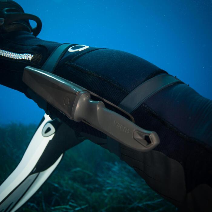 Couteau de plongée sous-marine SCD lame pointue acier inoxydable