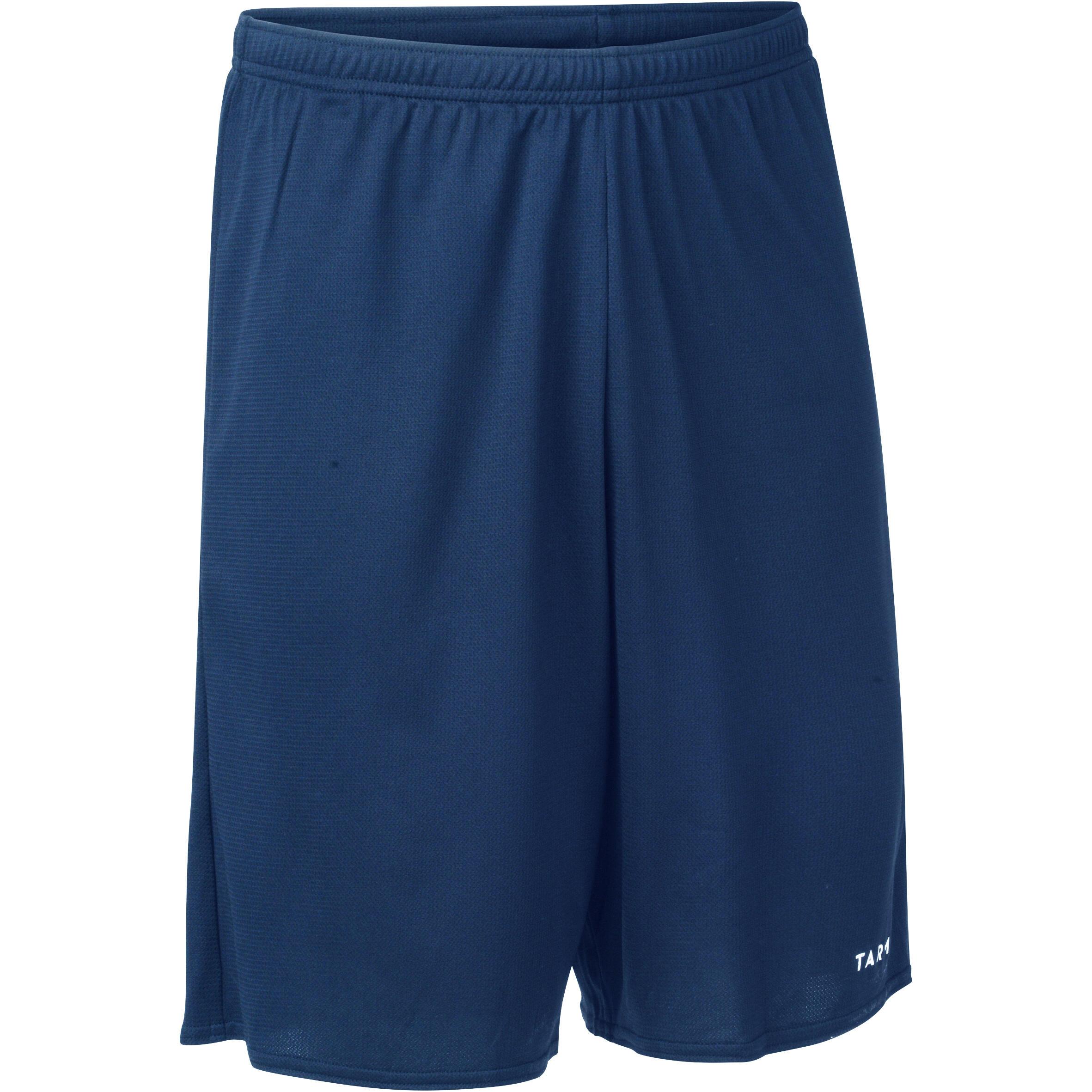 ADULT BASKETBALL SHORTS SH100 NAVY BLUE