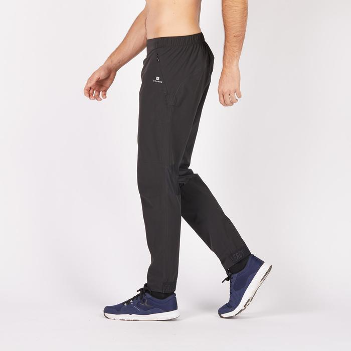 Pantalon fitness cardio homme noir FPA900 - 1285254