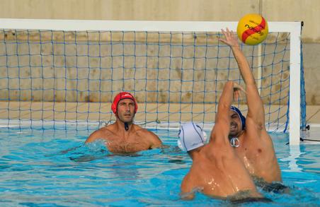 كرة للعبة كرة الماء للرجال مقاس 5- أصفر/أحمر