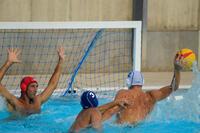 Gorro waterpolo adulto entrenamiento Azul