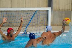Topi polo air dewasa biru 500