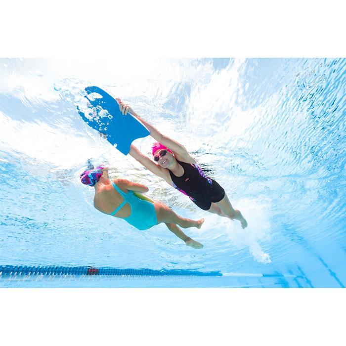 Bañador de natación una pieza mujer Vega faldita negro