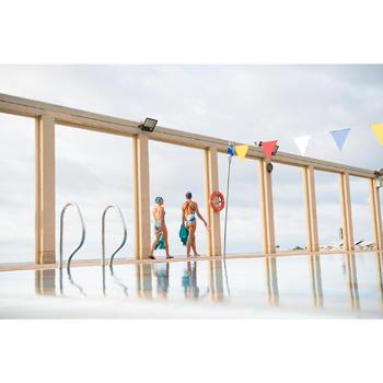 Teenslippers zwembad dames Tongga SFP 500 NAVY LEO