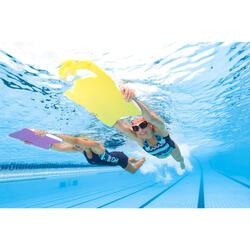 Bañador Natación Piscina Nabaiji Vega Mujer Espalda V Tirantes Anchos Azul