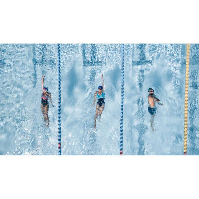 Bañador de natación moldeador una pieza para mujer Kaipearl Triki Negro