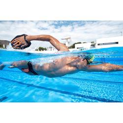 Bañador Natación Slip 900 Nabaiji Hombre Yoke Negro