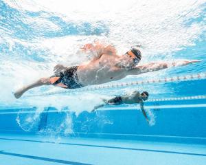 Treino de natacao