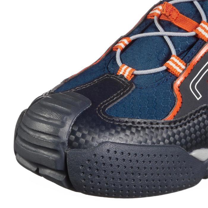 Wasserdichte Wanderschuhe Crossrock Kinder blau/orange