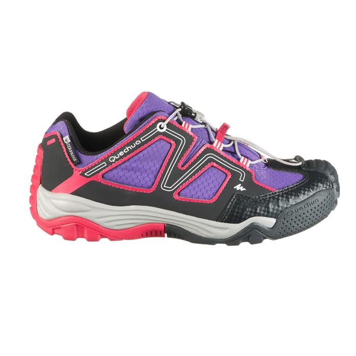 Chaussures de randonnée enfant Crossrock imperméables - 1285423